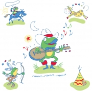 Singing Frog
