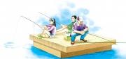 Family Fishing, Hook Line  &  Sinker