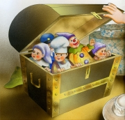 Puppets In a Chest, / An Enchanted Afternoon