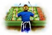Vegetable Bin, Club House Ad, Enterprise Creative Selling