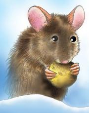 Mouse Illustration for Chickadee Magazine