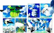 Snow Geese for Chickadee Magazine