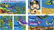 The Reef Squid for Chickadee Magazine