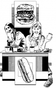 Girls Eating, Nelson Publishing