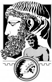 Greek Head, Globe  &  Mail