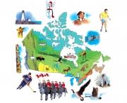 Canada, The Kids Book Of Canada